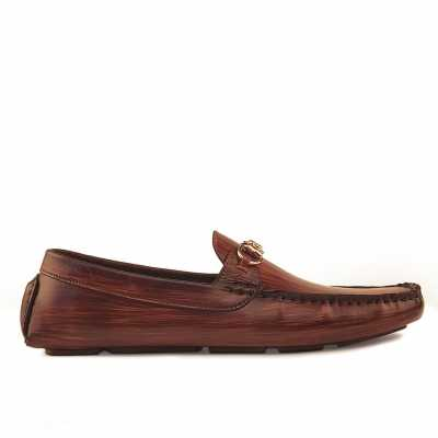 Branson Loafers Wood Finish