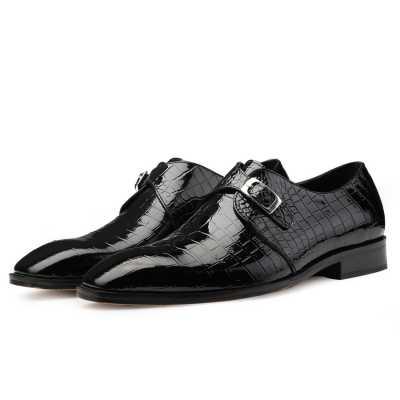Leroy Monkstrap Shoes - Escaro Royale