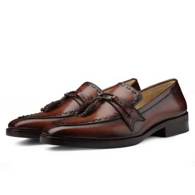 Dominator Tassel Penny Loafers