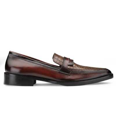 Iverson Tan Penny Loafers