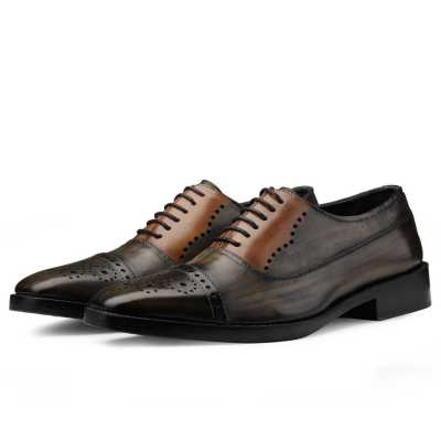 Marvin Medallion Captoe Oxfords