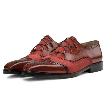 Bart Criss Cross Oxford Cognac