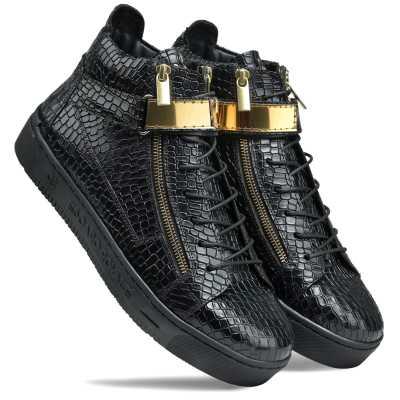 Goddard Leather Sneakers