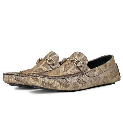 Amancio Snakeprint loafers
