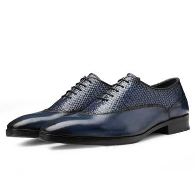 Dwayne Dual Textured Oxfords
