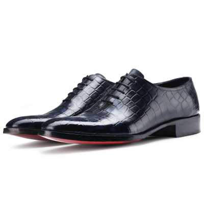 The Gama Goodyear Welted Fiddleback Wholecut Oxford