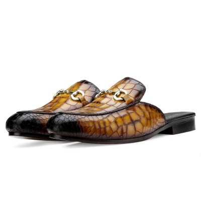 Tanguy Slippers Mules Tan