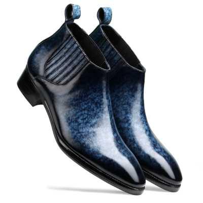Arkle Chelsea Boots Blue