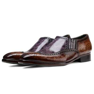 Hastings Slip-on Loafers Blue - Escaro Royale