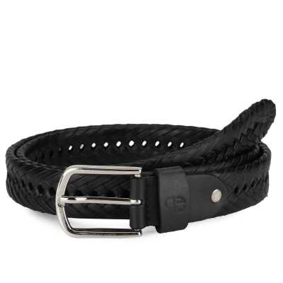 Kaleo Leather Braided Belt
