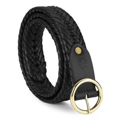 Kapono Leather Braided Belt