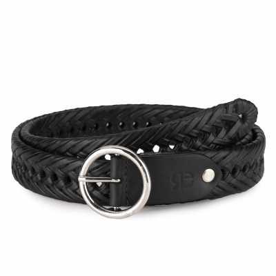 Santeri Leather Braided Belt