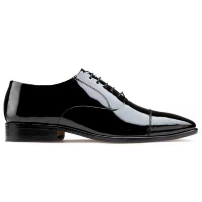 The Hoboken Patent Oxfords in Black