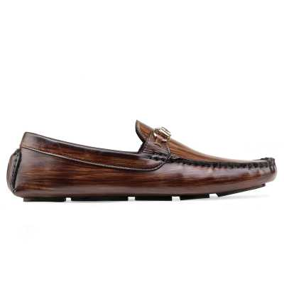 Branson Loafers Wood Finish