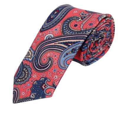 Astrid Pink Floral Tie