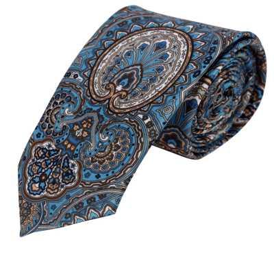Teagan Blue Floral Tie