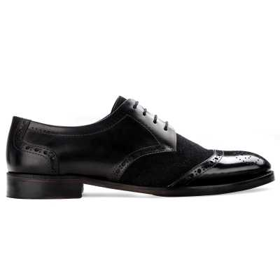 The Crescent Derby in Black