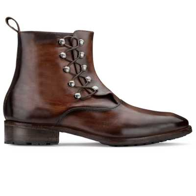The Francisco Ankle Boot in Brown