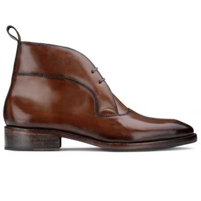 The Hudson Designer Chukka Boot in Brown