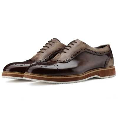 The Cortes Designer Oxford in Brown