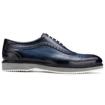 The Cortes Designer Oxford in Blue