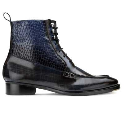 Attila Dual Textured Boots - Escaro Royale