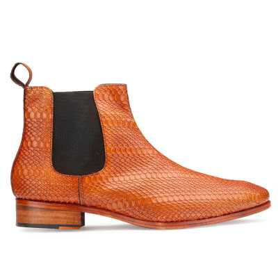 Neo Chelsea Boots in Tan