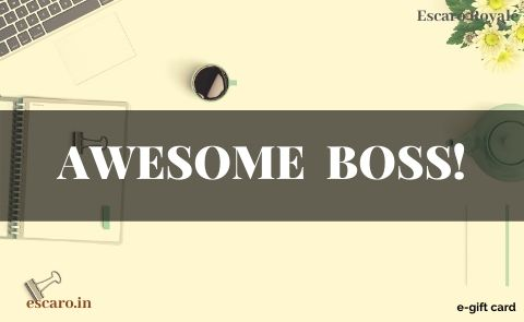 AWESOME  BOSS!