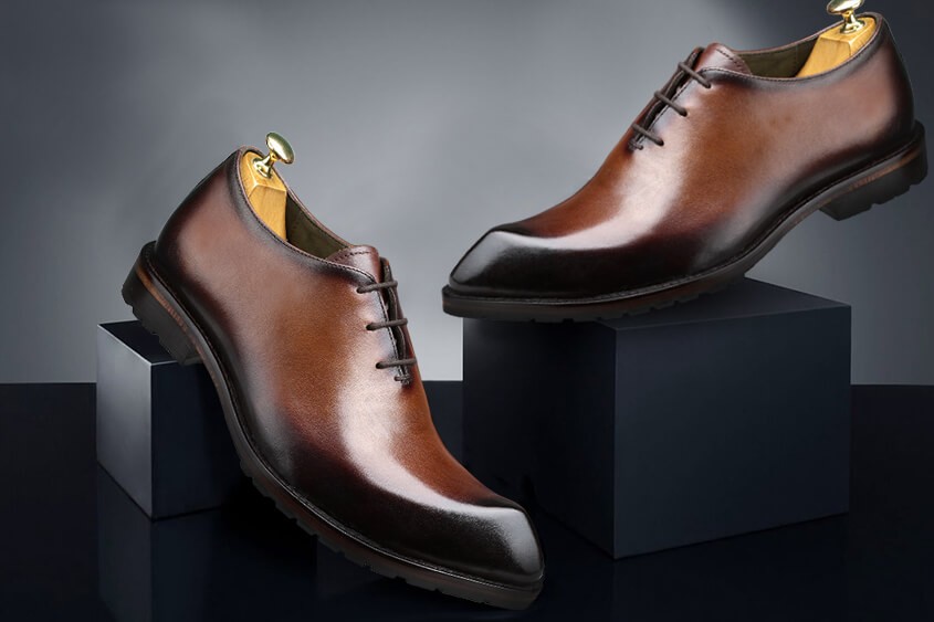 Difference between oxford shoes, derby shoes and brogue shoes
