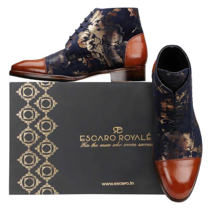 Fei Designer Chukka Boots - Escaro Royale