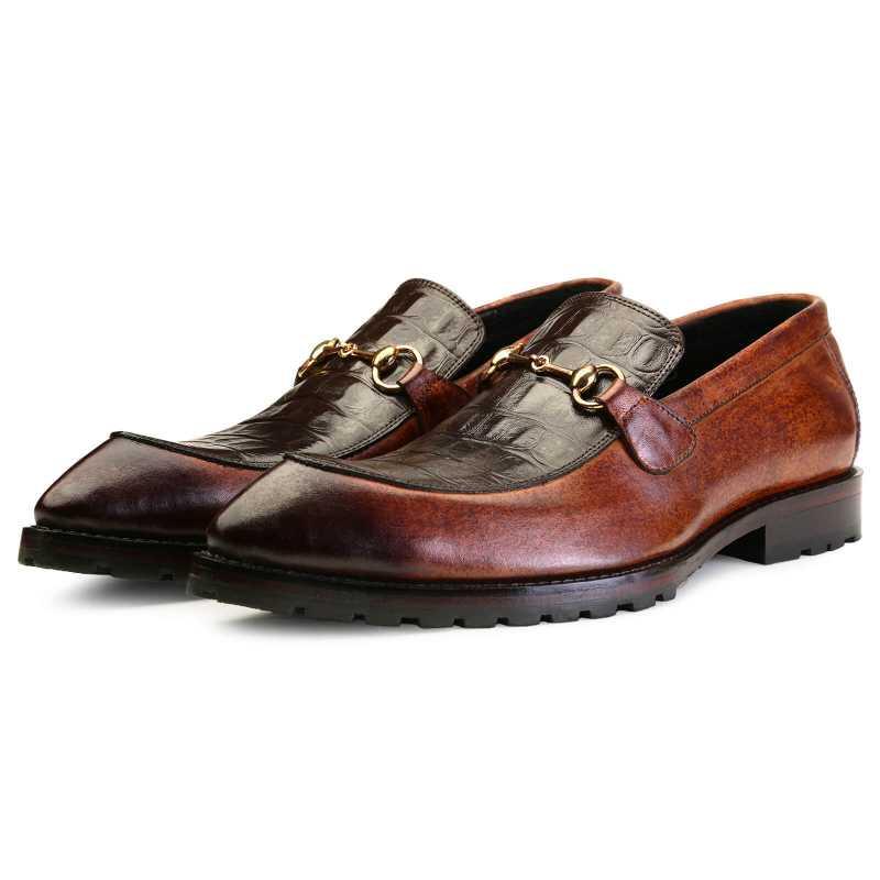 Wallace Snip toe horsebit Loafers - Escaro Royale