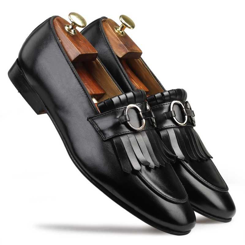 Ortiz Horsebit Loafers - Escaro Royale