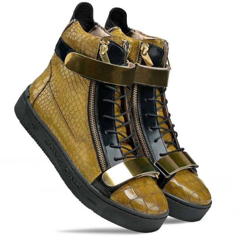 Maximus Hightop Sneakers - Escaro Royale