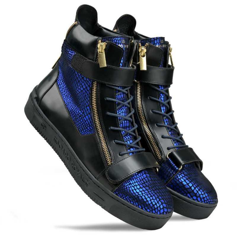 Jagger Hightop Sneakers - Escaro Royale