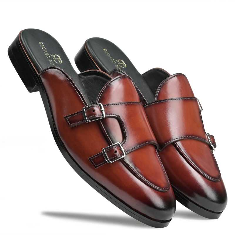 Luther Slipper Mules - Escaro Royale