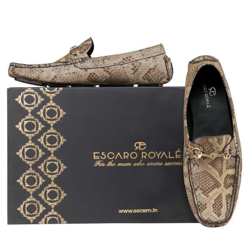 Amancio Snakeprint loafers