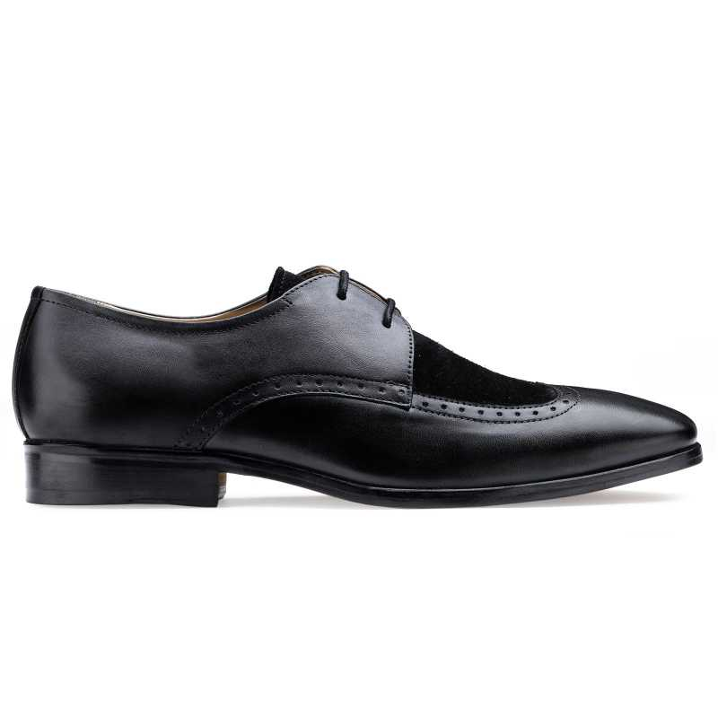 The Merlin Wingtip Derby in Black