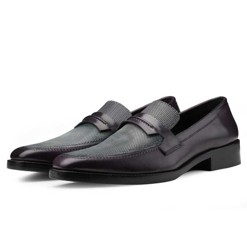 Iverson Penny Loafers - Escaro Royale