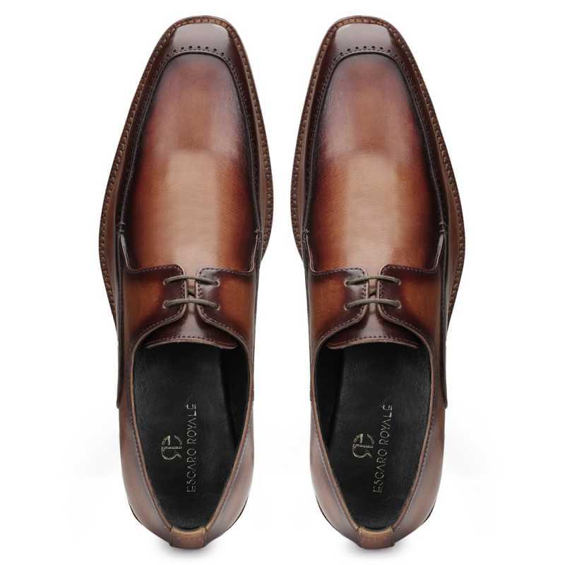 Duncan Derby Shoes - Escaro Royale