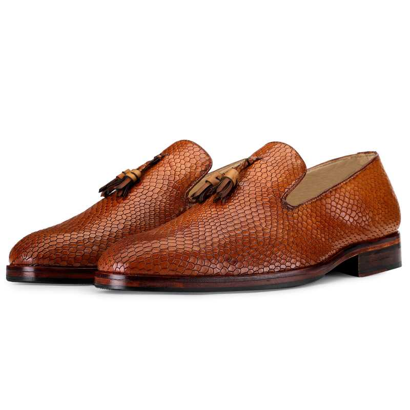 Bourne Designer Slipon Loafers - Escaro Royale