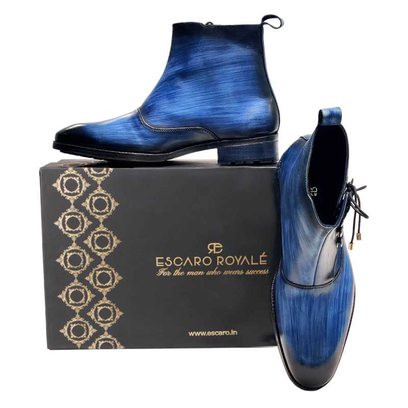 Beaufort Ankle Boots - Escaro Royale