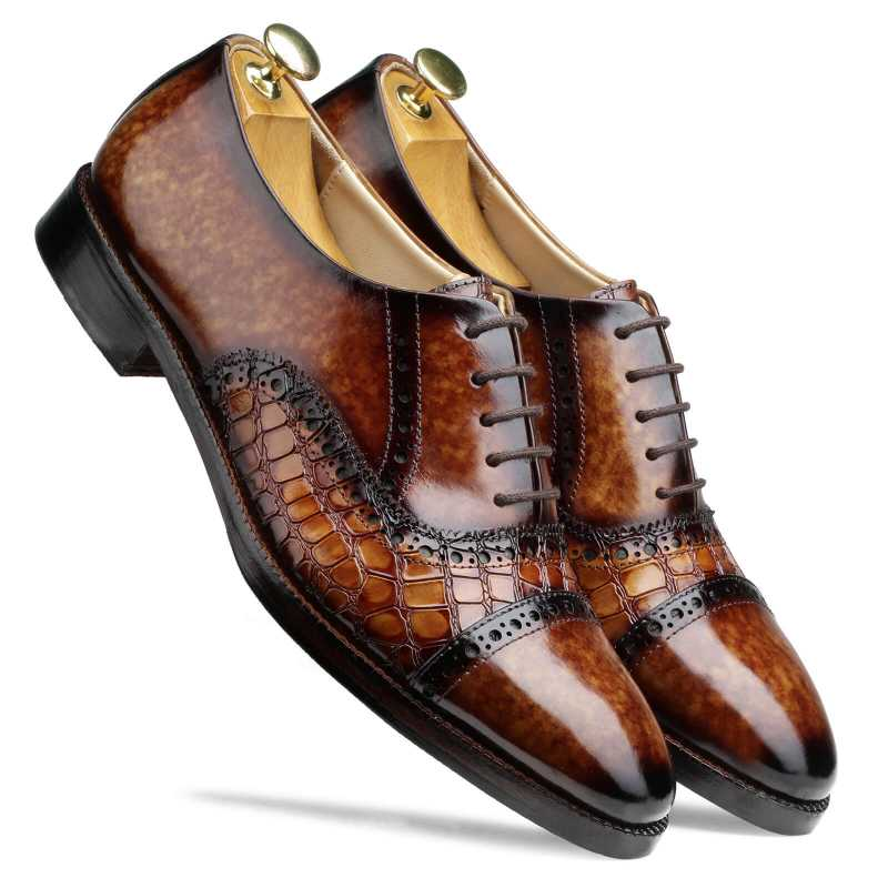 Kavan Captoe Oxfords - Escaro Royale