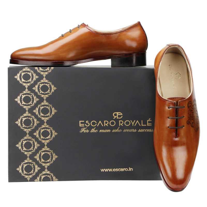 Garrick Wholecut Oxfords - Escaro Royale