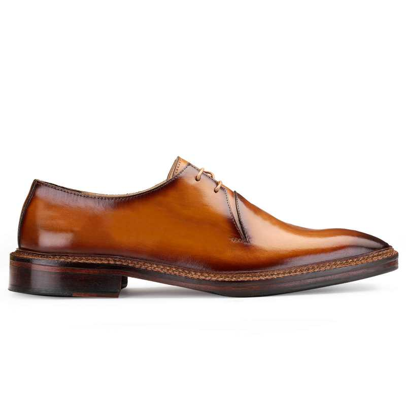 Baron Patina Dress shoes in Tan - Escaro Royale
