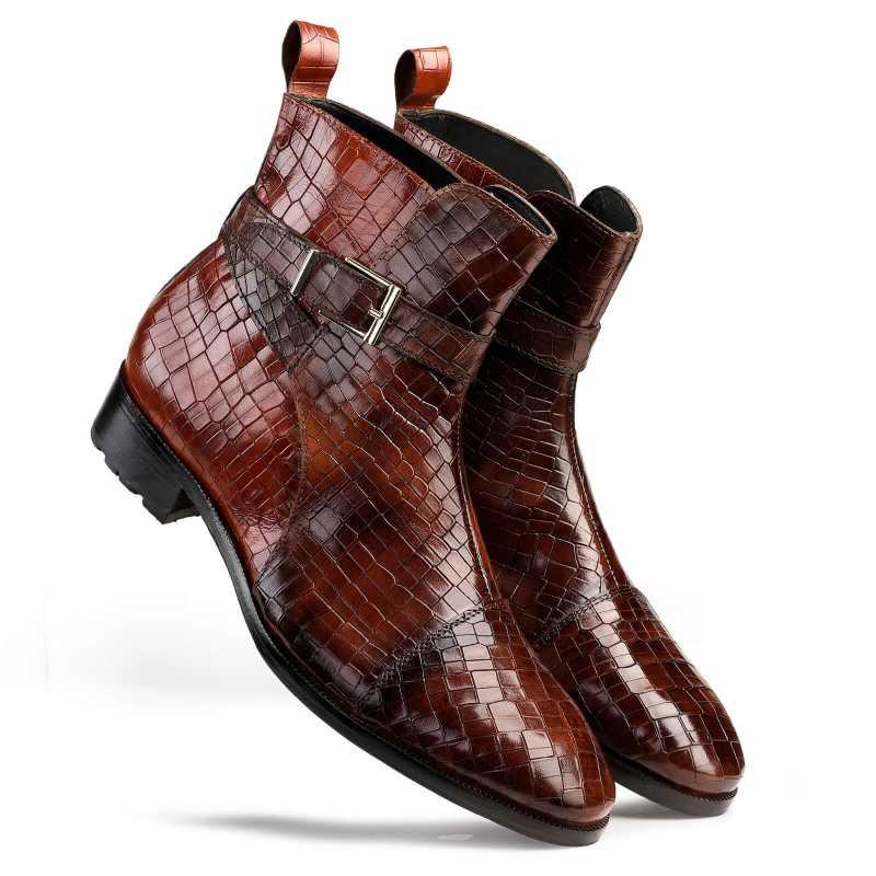 Jodhpur Boots in Patina Brown - Escaro Royale