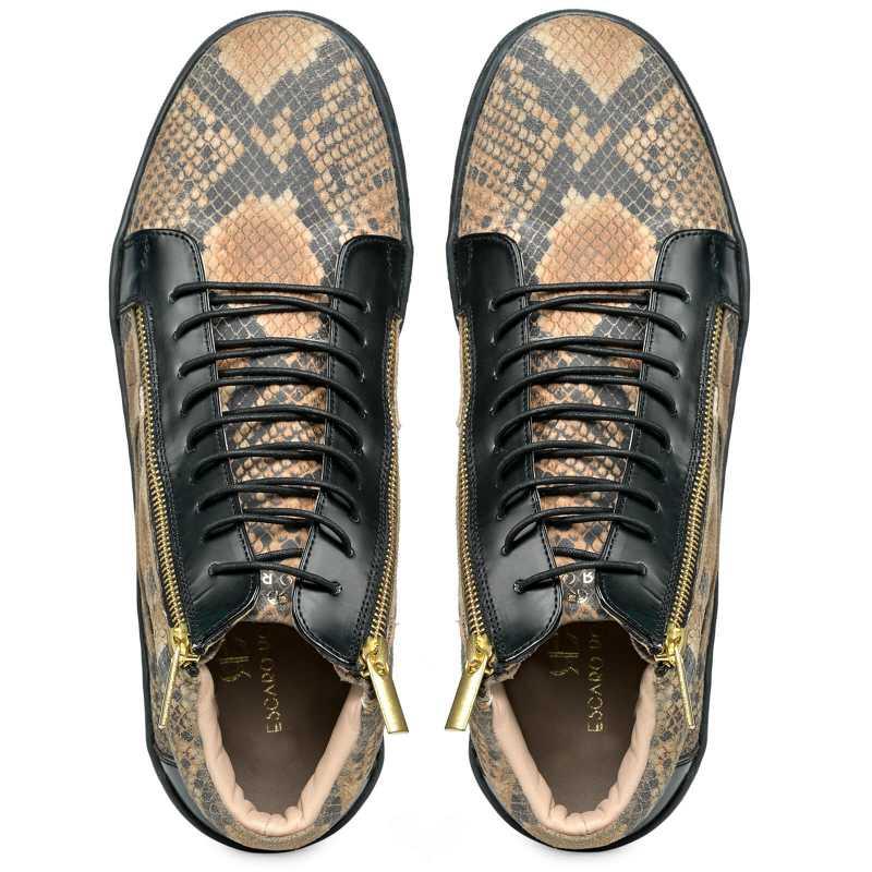 Falcon Hightop Sneakers - Escaro Royale