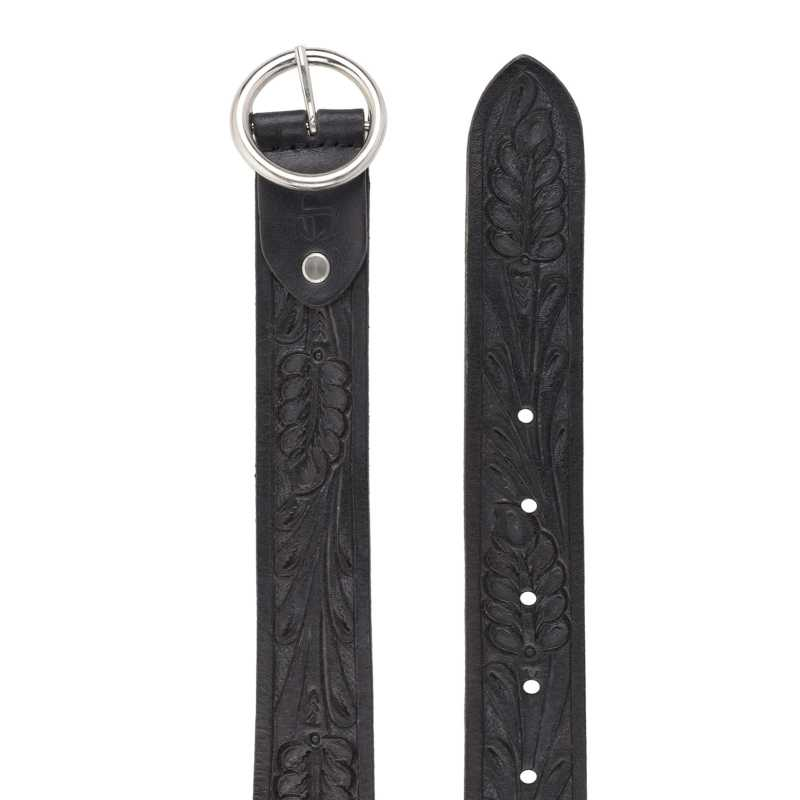 Hand Crafted Hand Tool Leather Belt - Escaro Royale