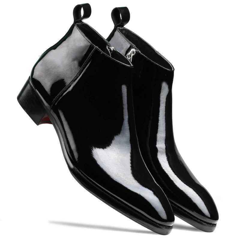 Kelso Zipper Boots - Escaro Royale
