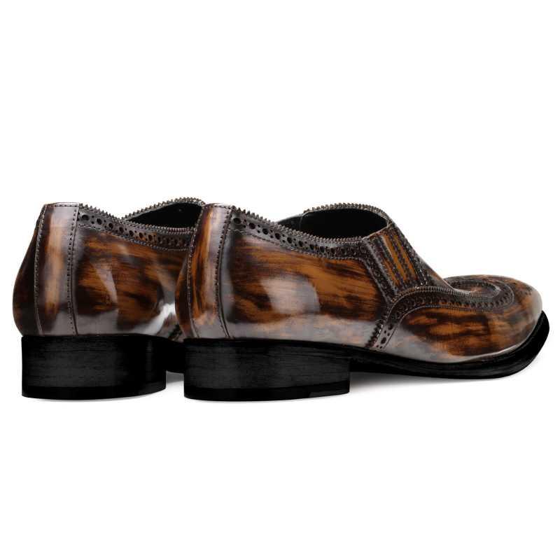Hastings Slip-on Loafers Brown - Escaro Royale