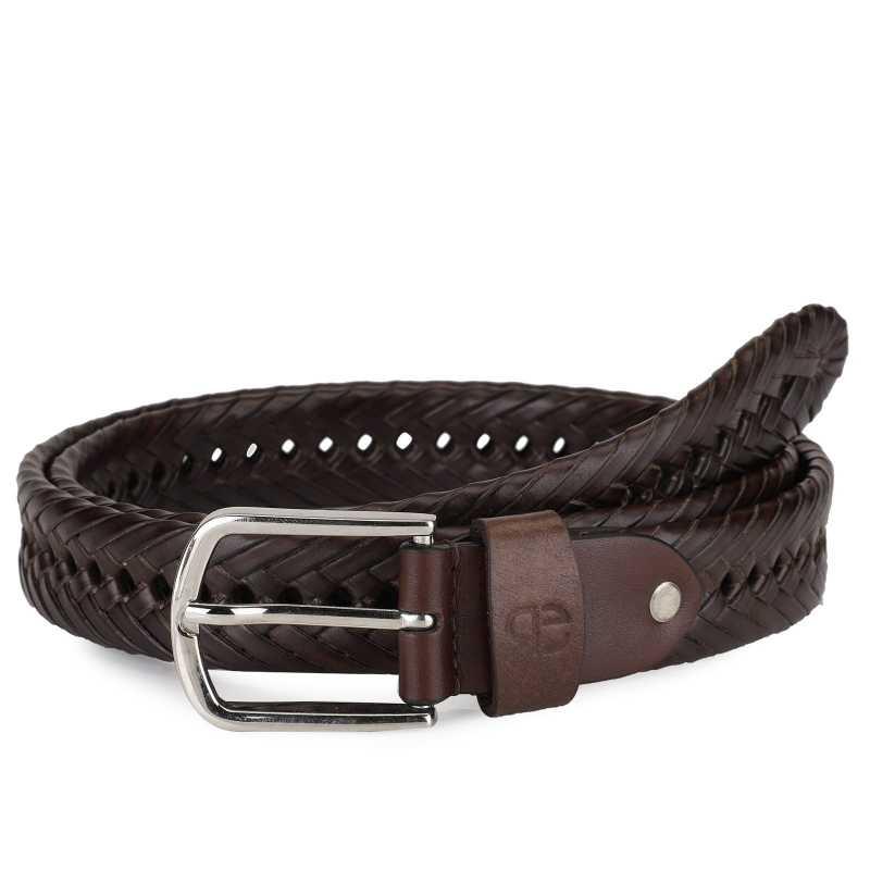 Shurik Leather Braided Belt - Escaro Royale